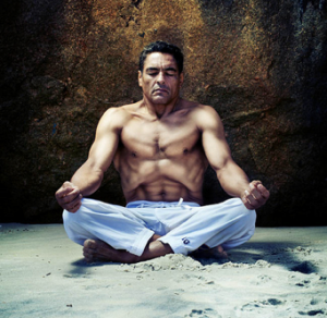Rickson Gracie breathing